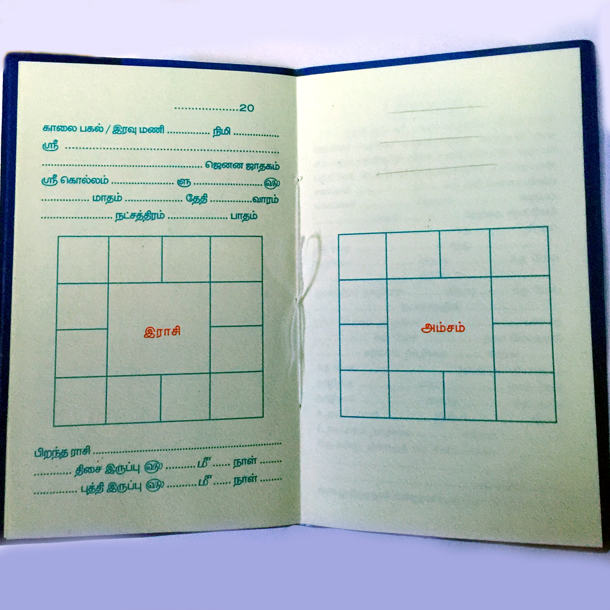 Get your horoscope book birth chart tamil astrofa sample book nvjuhfo Image collections